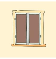 window color8 vector image