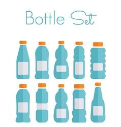 bottles light1 resize vector image