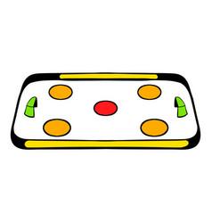 ice hockey rink icon icon cartoon vector image vector image