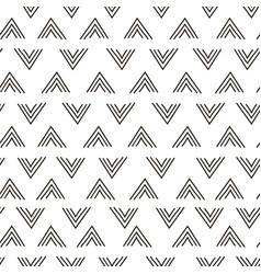 abstract geometric fashion design print triangle vector image vector image