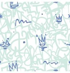 Graffiti Seamless Patten vector image vector image