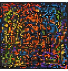 pixel backgroun vector image vector image