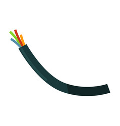 wires in braiding vector image vector image