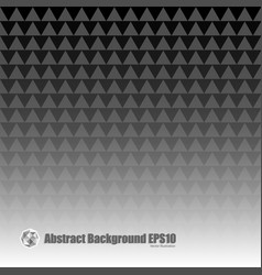 abstract gray seamless triangle background vector image