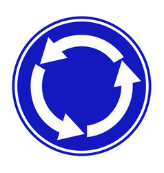 Blue white arrows right hand vector