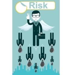 Business risks vector
