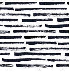 dry brush stripe pattern vector image
