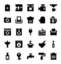 Home appliances icons 2 vector