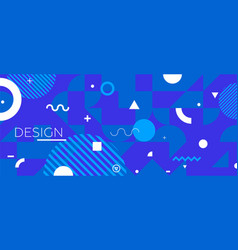modern colored background vector image