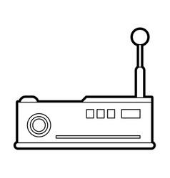 projector vector image