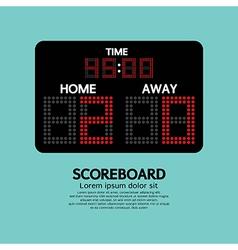 Scoreboard Sport vector