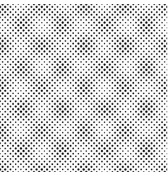 seamless black and white geometrical dot pattern vector image