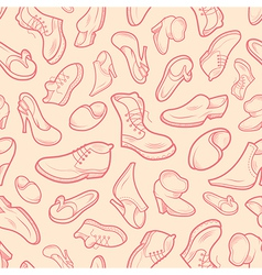 shoes various type vector image