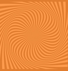 spiral background from rotated rays vector image