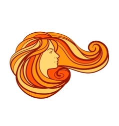 Beauty salon spa logo design template vector image vector image