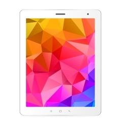 tablet computer vector image vector image
