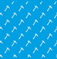 Ax pattern seamless blue vector