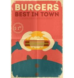 Big Burger vector