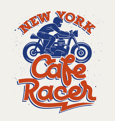 Cafe racer 005 vector