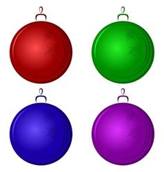 christmastree decoration vector image