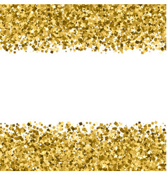 Gold glitter texture vector