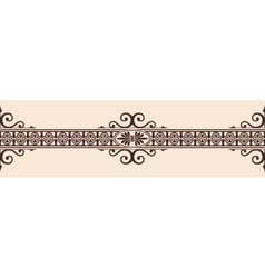 Gothic style ornament vector image