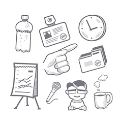Presentation equipment vector