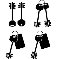 Set of keys second variant vector