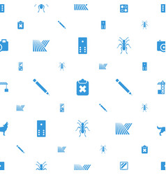Shadow icons pattern seamless white background vector