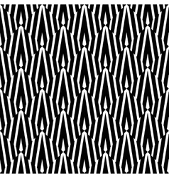 Abstract White Black Psychedelic Pattern vector