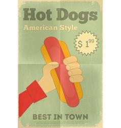 Big Hot Dog vector