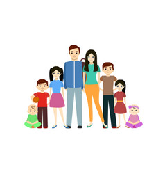 cartoon young character man and woman vector image