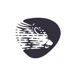 logotype bear vector image