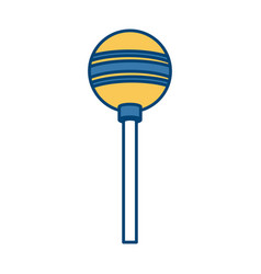 lollipop candy isolated vector image