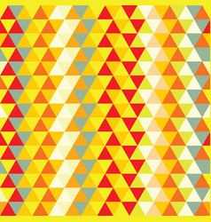 nice triangle pattern vector image