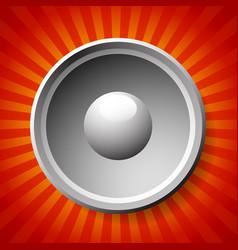 Speaker or loudpseaker background vector