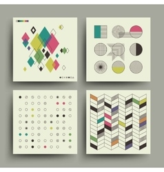 Swiss modernism style trendy music minimalistic 2d vector