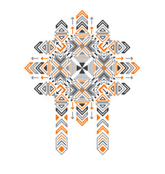tribal ethnic pattern vector image