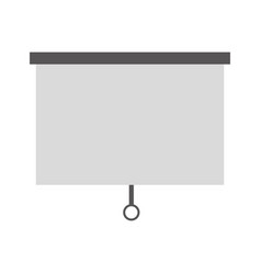 window blind isolated icon vector image