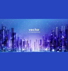 Night city background vector