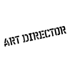 Art Director rubber stamp vector image