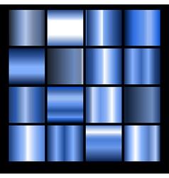Blue gradients vector
