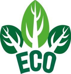 eco3 vector image