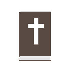 isolated bible icon vector image