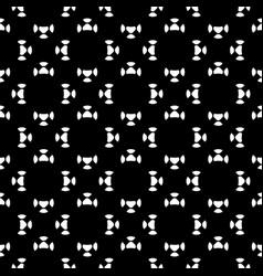 minimalist seamless pattern circular figures vector image