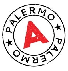 Palermo stamp rubber grunge vector