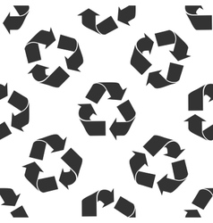 Recycle symbol icon pattern vector