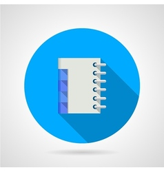Flat icon for organizer vector image