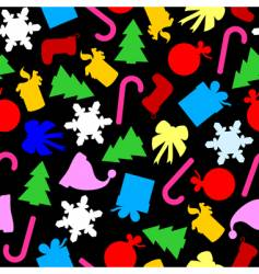 festive seamless vector image vector image