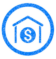 money storage rounded grainy icon vector image